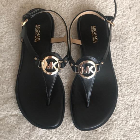 Lee Leather Flat Thong Sandal | Poshmark